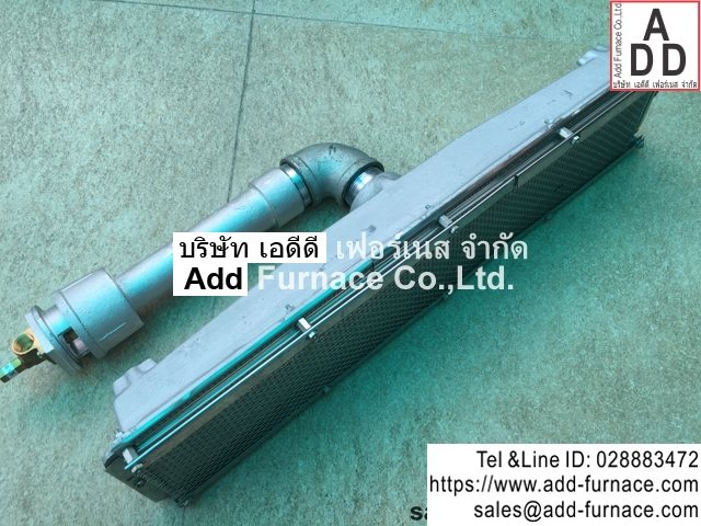 infrared burner type a 1802(2)