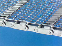 CHAIN DRIVEN BELT WITH ATTACHMENT TYPE