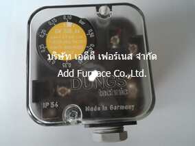 gw 500 a4 dungs pressure switch