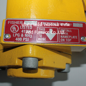 Fisher N550-10 Emergency Shutoff