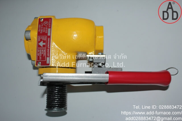 Fisher N550-16 Emergency Shutoff (2)