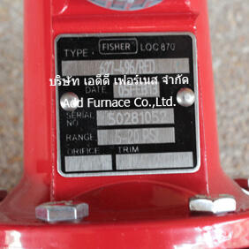 Fisher Loc 870 Type 627-497/RED