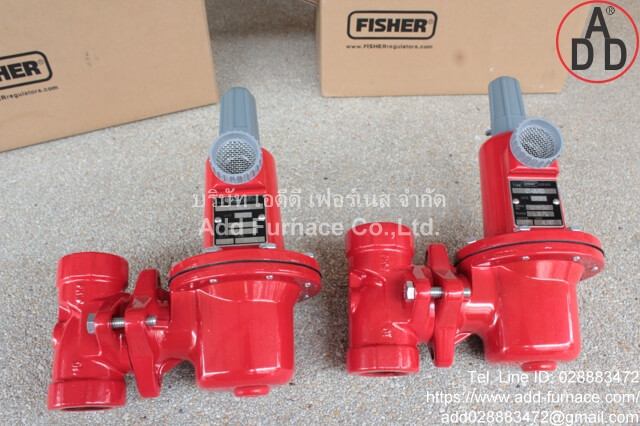 Fisher Loc 870 Type 627-497/RED (9)