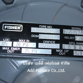 fisher hsrl-cfc