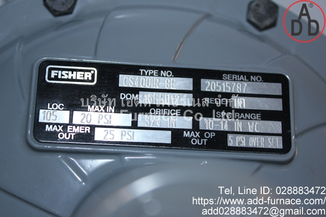Fisher CS400IR-8E(2)