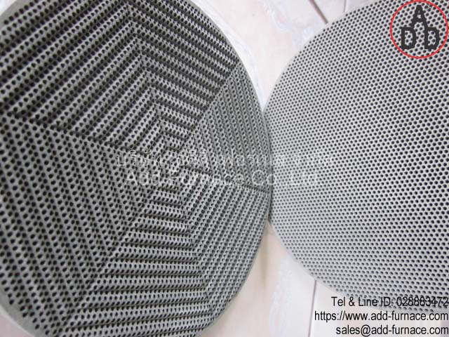 RG8 diameter 135mm ceramic honeycomb(2)
