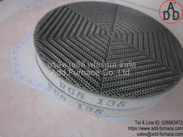 RG8 diameter 135mm ceramic honeycomb(6)