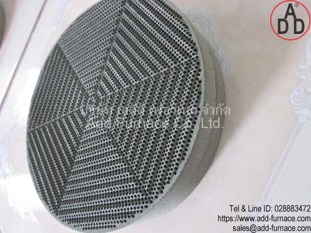 RG8 diameter 135mm ceramic honeycomb(7)