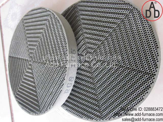 RG8 diameter 135mm ceramic honeycomb(8)