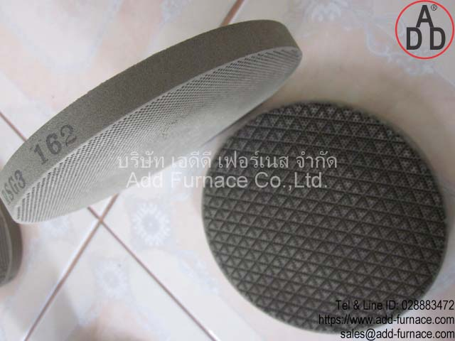 RSG3 diameter 162mm ceramic honeycomb(1)