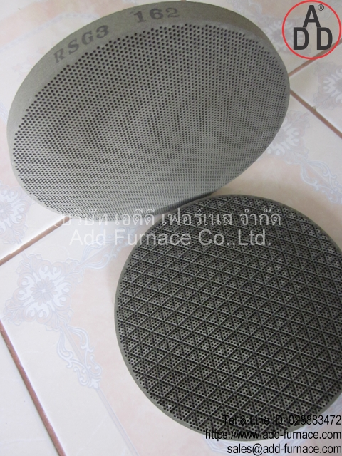 RSG3 diameter 162mm ceramic honeycomb(2)