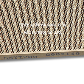 SMYT200 140x200x13mm honeycomb ceramic
