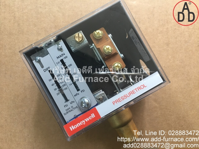 Honeywell PRESSURETROL L404F 1094(6)