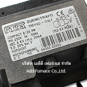 Fida zuendtrafo Compact 8/20 PM ignition transformer