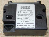 fida 26/30 ignition transformer