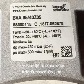 BVA 150Z05 | 88300105 krom//schroder - บริษัท เอดีดี เฟอร์เน