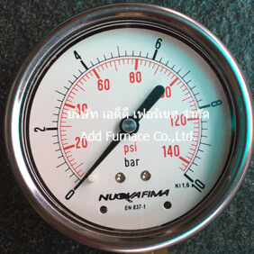 0~10Bar(0~145Psi) Pressure Gauge