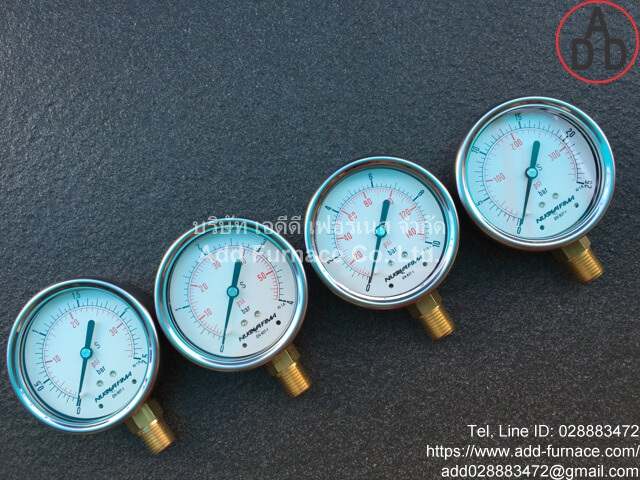 0~10Bar(0~145Psi) Nuova Fima Pressure Gauge(11)