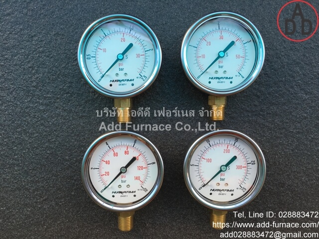 0~10Bar(0~145Psi) Nuova Fima Pressure Gauge(12)