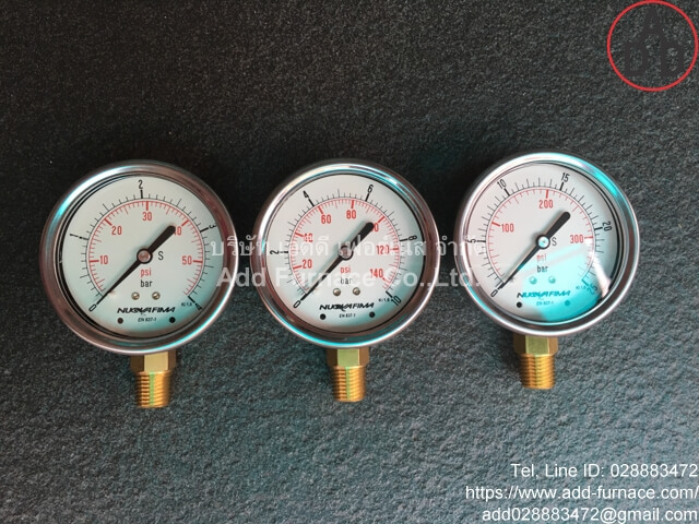 0~10Bar(0~145Psi) Nuova Fima Pressure Gauge(6)