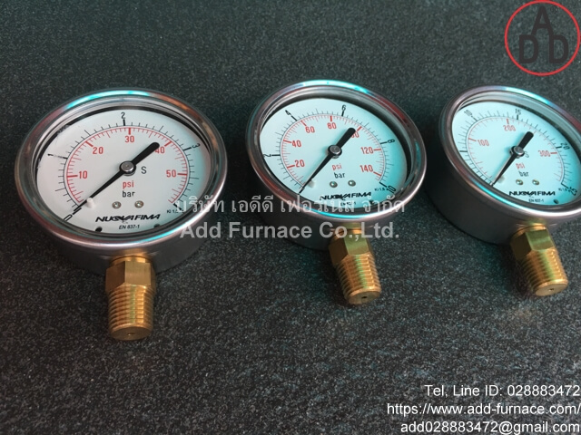 0~10Bar(0~145Psi) Nuova Fima Pressure Gauge(7)