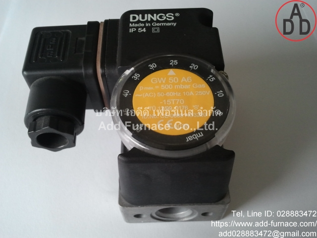 GW 50 A6 Dungs Pressure Switch(1)