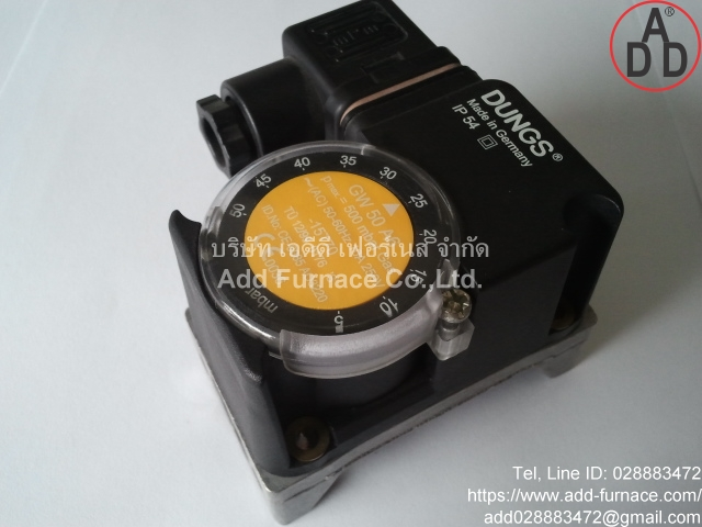 GW 50 A6 Dungs Pressure Switch(2)