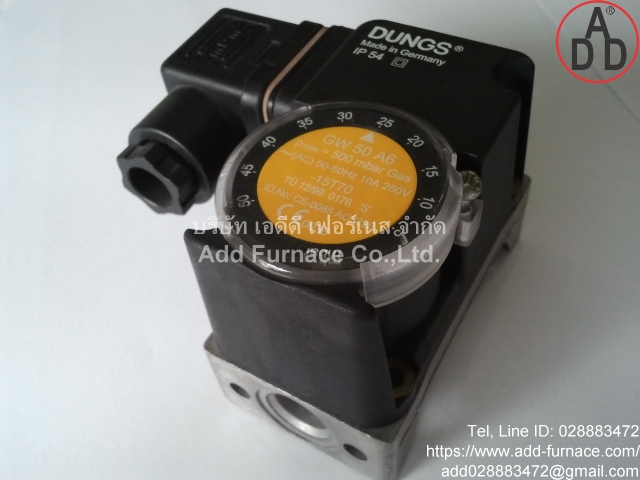 GW 50 A6 Dungs Pressure Switch(4)